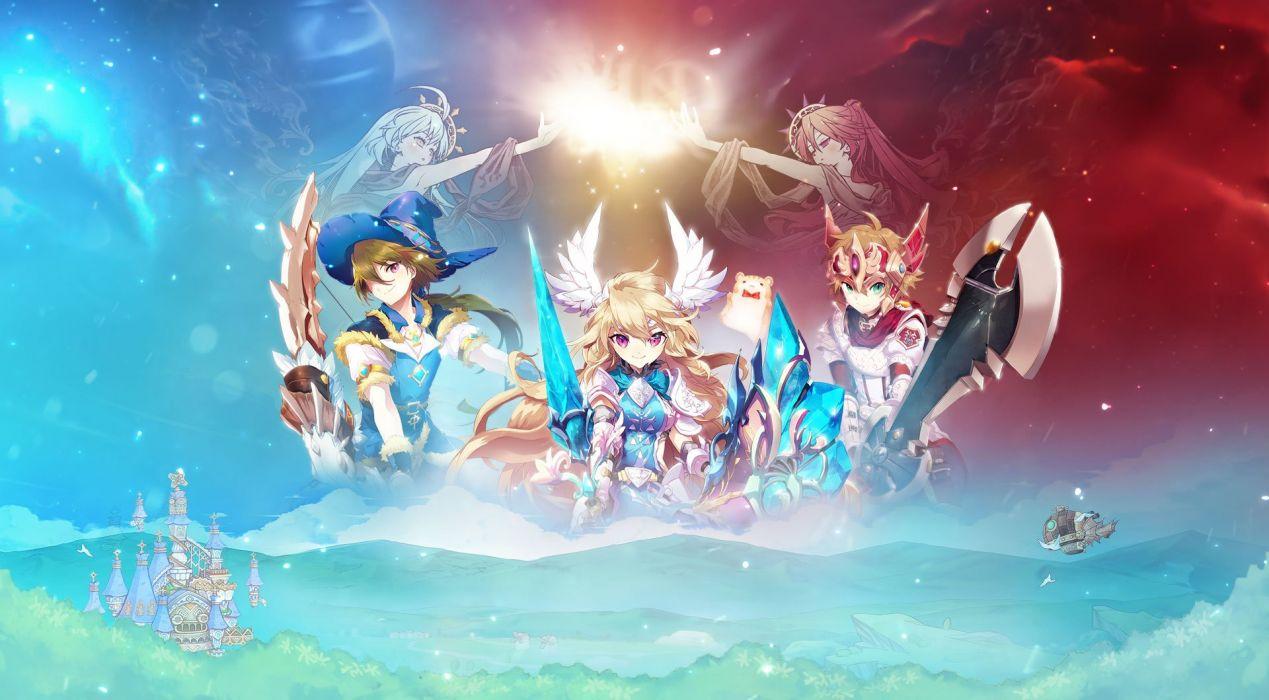 Twin Saga Wallpaper
