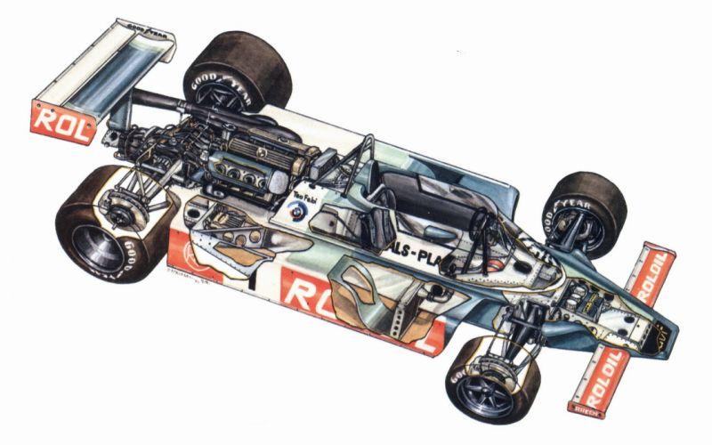 March 802 cars racecars cutaway 1980 wallpaper