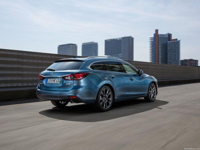Mazda 6 Wagon cars 2016 wallpaper