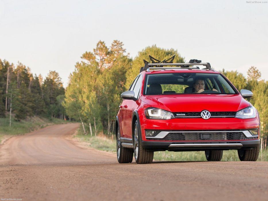 Volkswagen Golf Alltrack wagon 2016 wallpaper