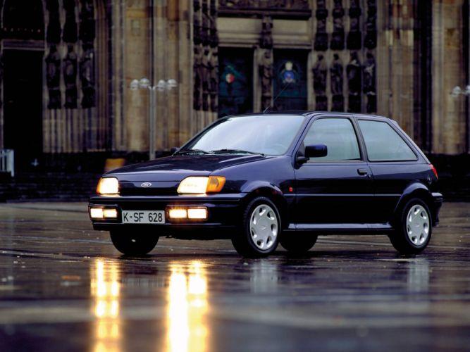 Ford Fiesta XR2i cars 1989 wallpaper