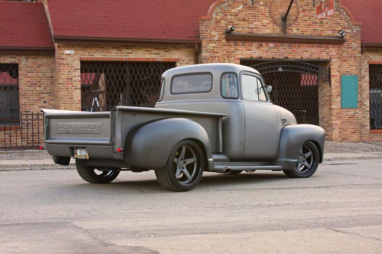 1953 Chevrolet 1300 Pickup truck modified wallpaper