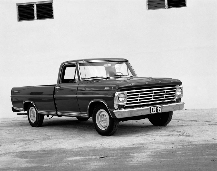 1967 Ford F-250 Styleside Pickup Ranger truck wallpaper