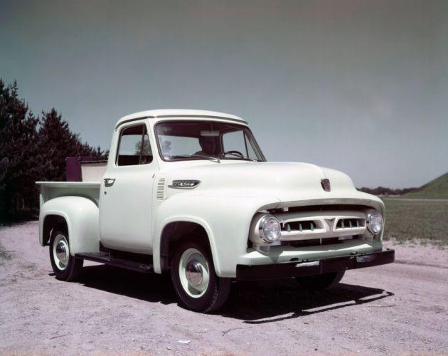 1953 Ford F-100 Pickup truck wallpaper