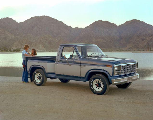 1980 Ford F-150 Flareside Pickup truck wallpaper