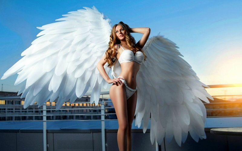 Bikini Angel wallpaper