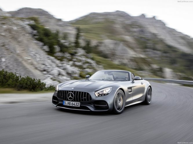 Mercedes Benz AMG GTC Roadster cars 2016 wallpaper