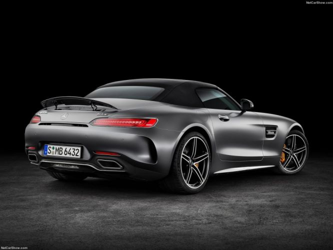 Mercedes Benz AMG GTC Roadster cars 2016 wallpaper