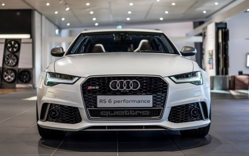 Audi RS6 Performance Exclusive cars wagon 2016 wallpaper