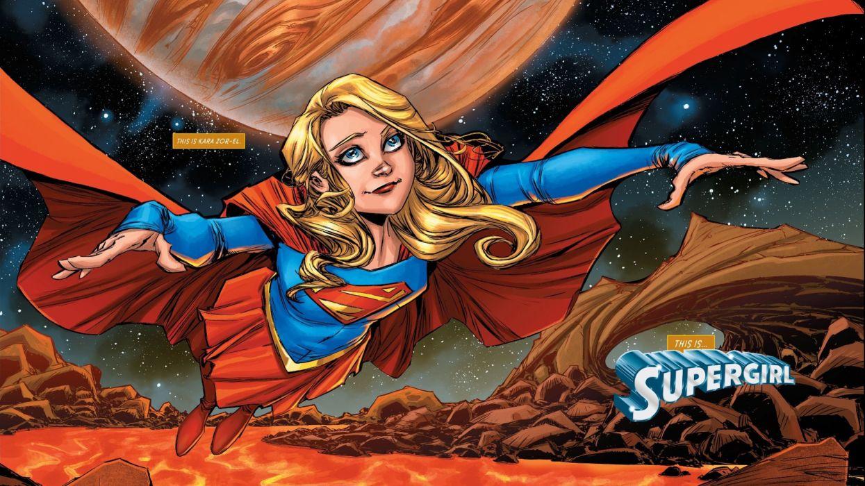 Rebirth Supergirl wallpaper