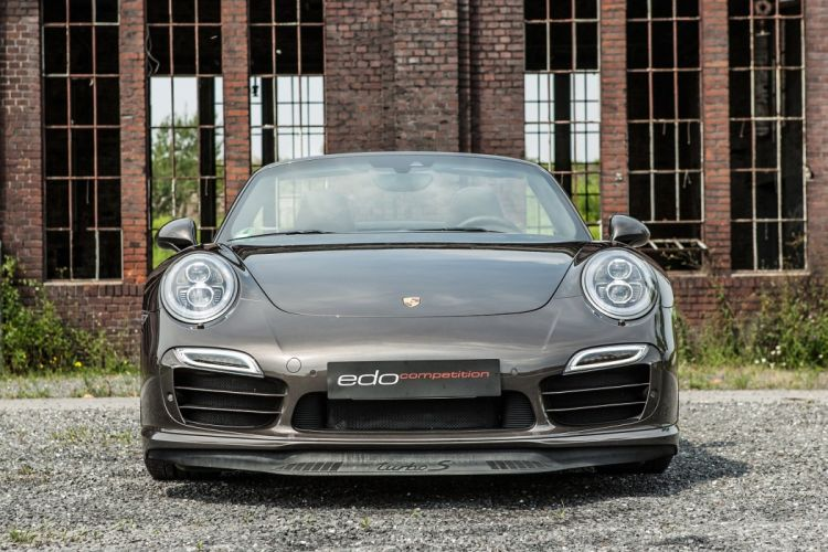 Edo Competition Porsche 911 Turbo S Cabriolet (991) cars modified 2014 wallpaper