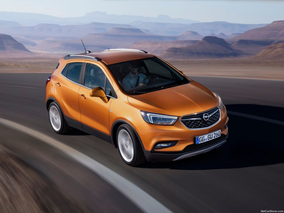Opel Mokka X cars suv 2016 wallpaper
