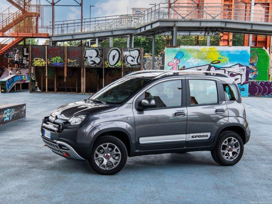 Fiat Panda suv Cross cars 2016 wallpaper