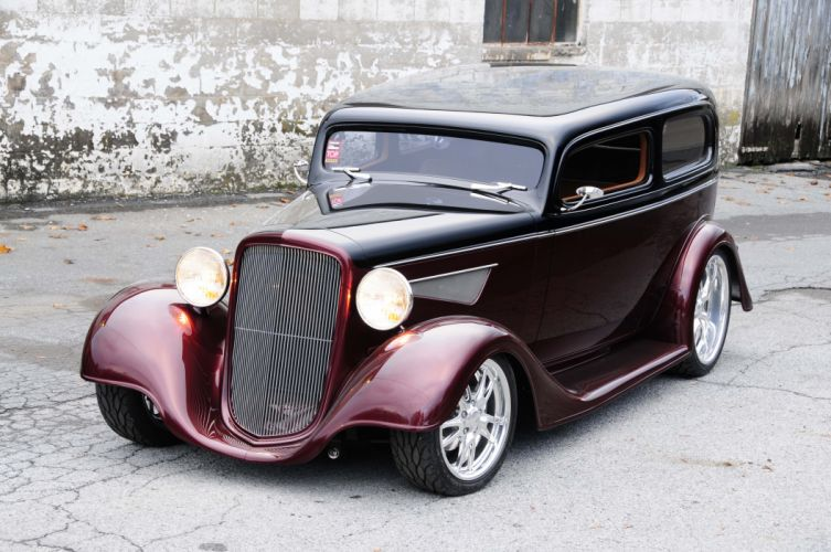 1934-chevy-sedan-maloney-left-profile wallpaper