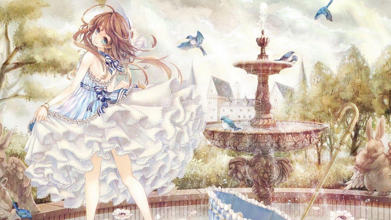 Wallpapersxl Anime Girl Nature Manga Girls Jpg 588596 1920x1080 wallpaper