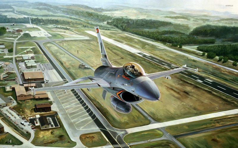 general-dynamics-f-16-fighting-falcon wallpaper