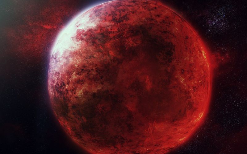 art stars space the red planet wallpaper
