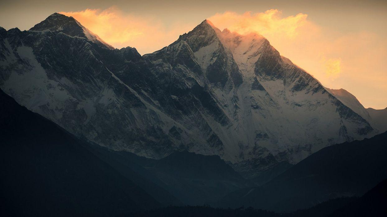 Mountain Lhotse Wind Mount Everest Lhotse Everest Everest Wallpaper 1920x1080 1017636 Wallpaperup