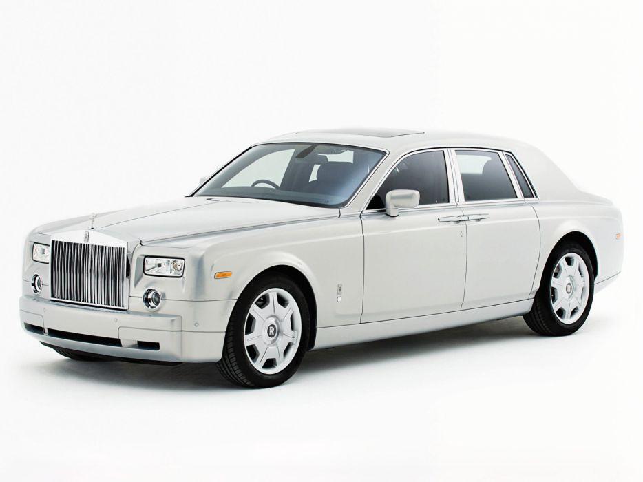 Rolls-Royce Phantom Silver Edition 2007 wallpaper