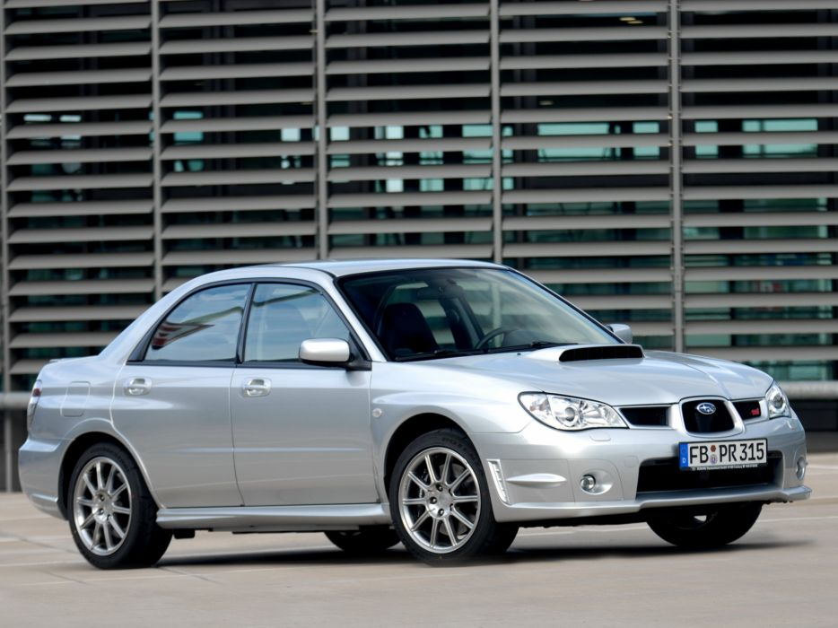 Subaru Impreza Wrx Sti Limited 2006 Wallpaper 2048x1536 1017745