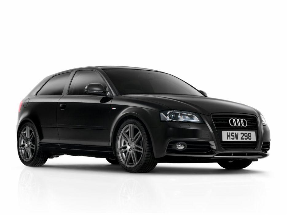Audi A3 Black Edition 2009 wallpaper