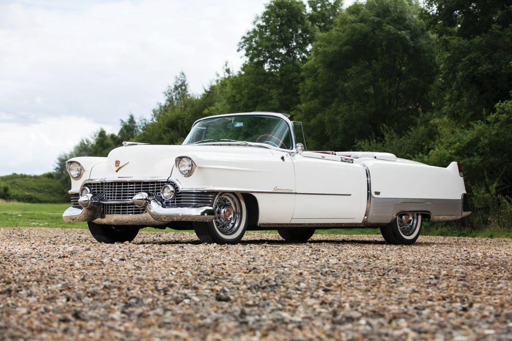 1954 Cadillac Eldorado Convertible Alpine White wallpaper