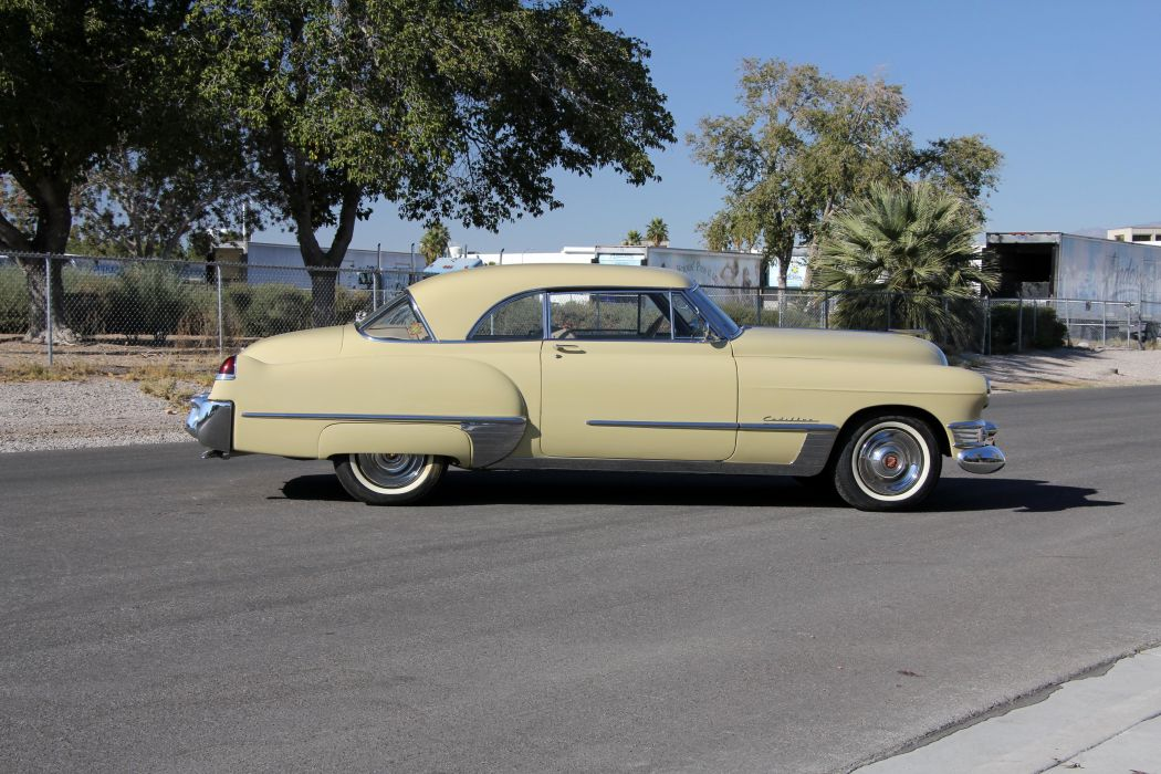 1949 Cadillac Sixty-Two Coupe de Ville cars classic wallpaper