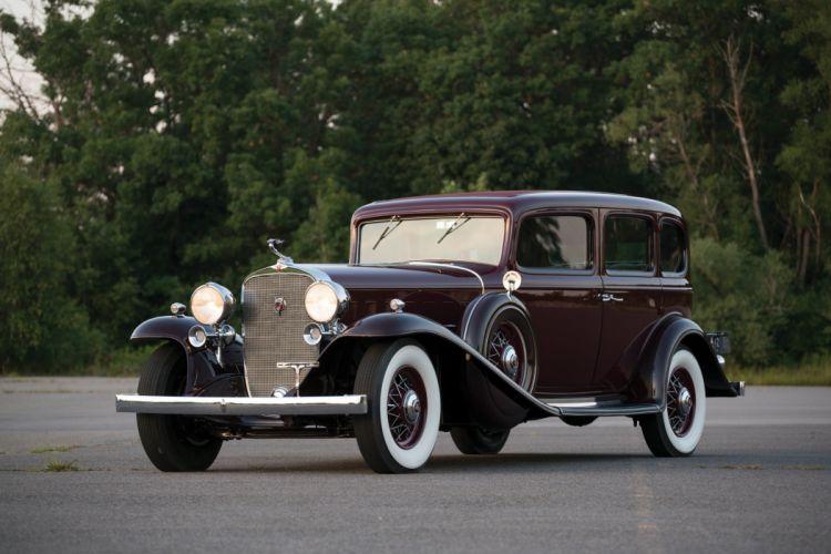 1932 Cadillac V16 452-B 5-passenger Sedan Fleetwood cars classic wallpaper