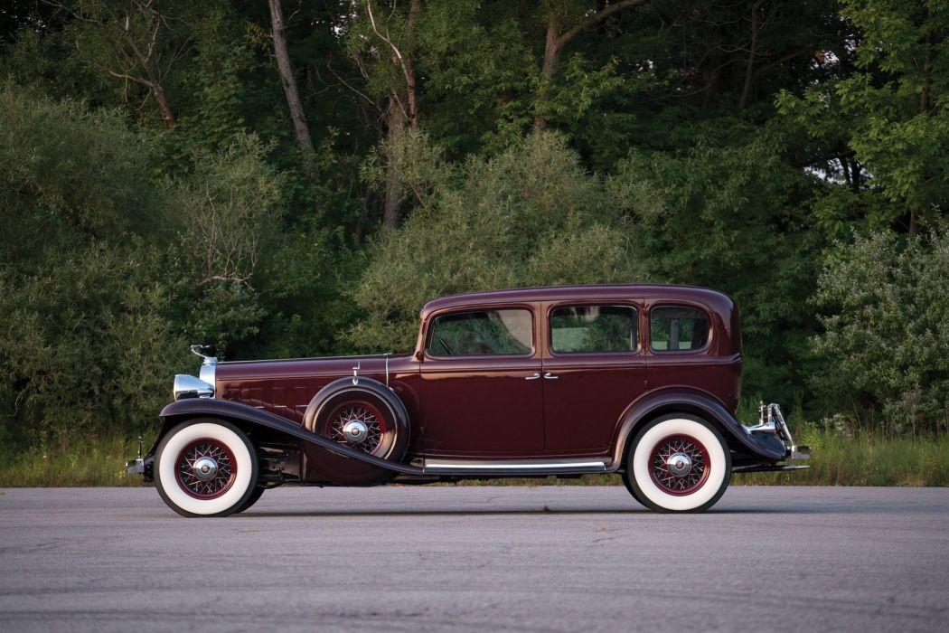 1932 Cadillac V16 452 B 5 Passenger Sedan Fleetwood Cars