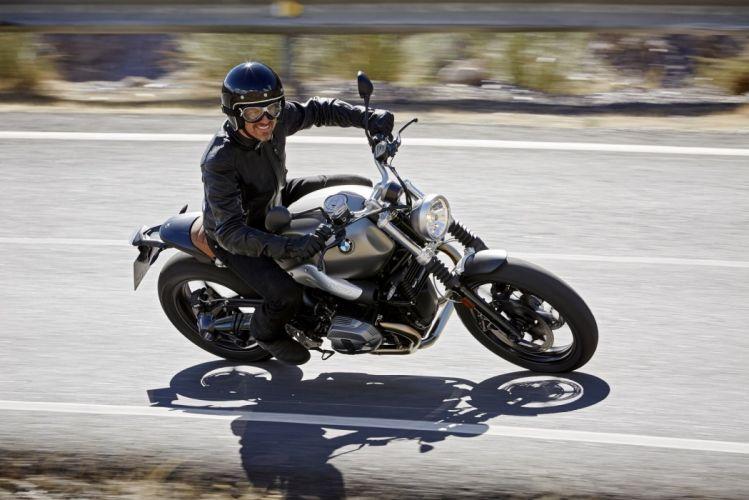 BMW R nineT Scrambler motorcycles 2015 wallpaper