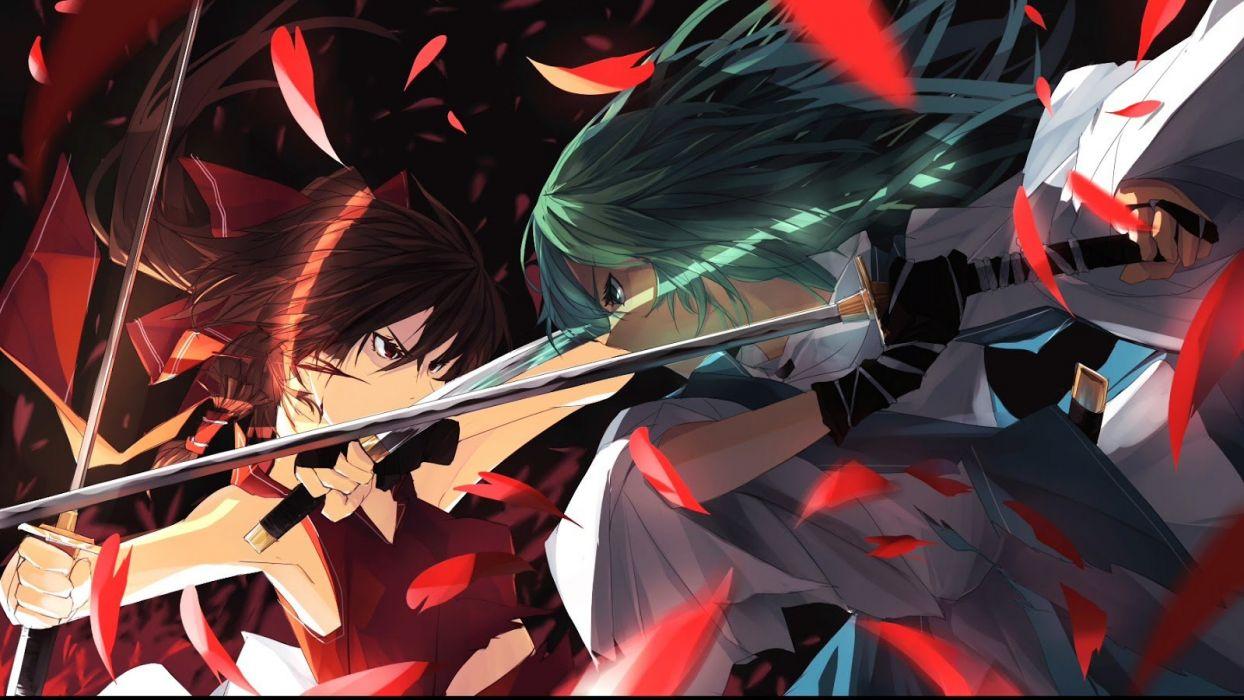 sword fight girl fighting wallpaper