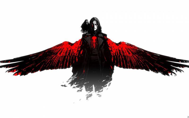wings art boy crow black the crow the film arsenixc wallpaper