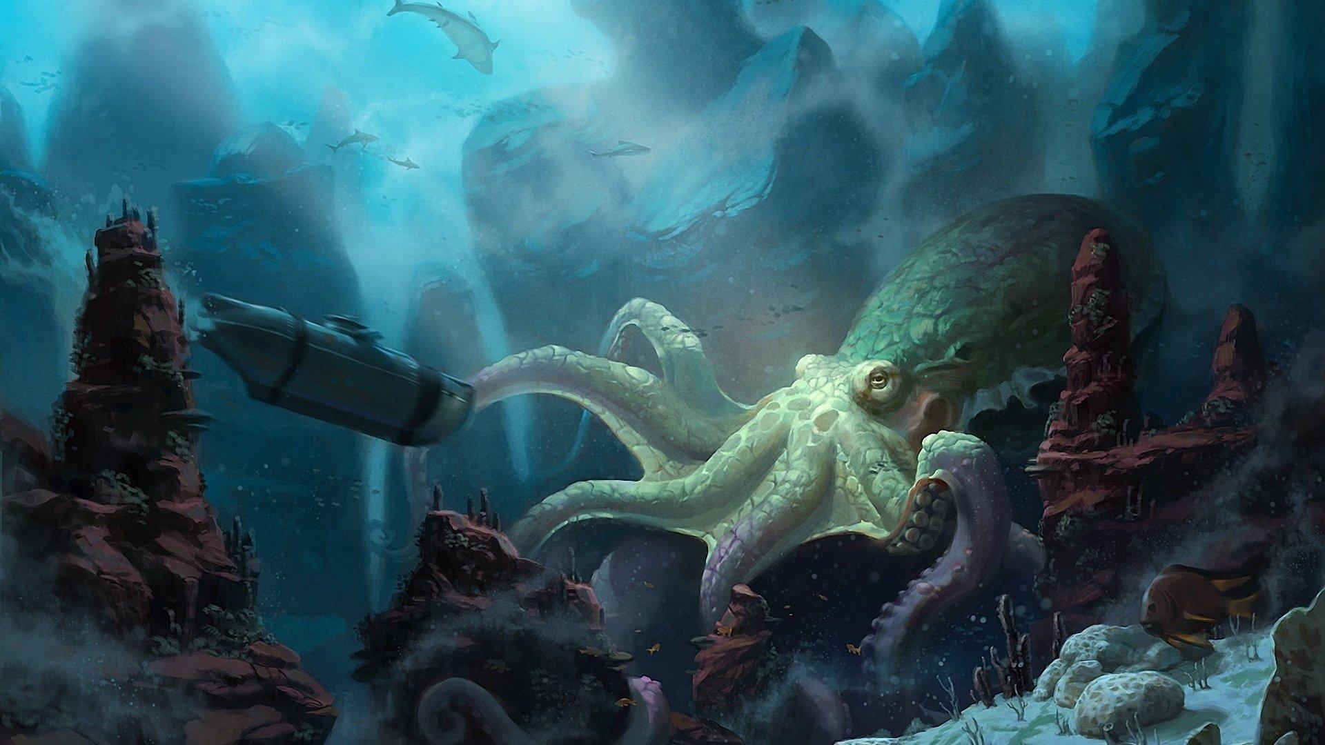 подводная лодка спрут