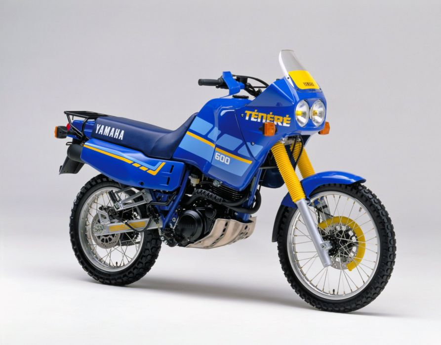 yamaha xt600z tenere motorcycles 1988 wallpaper