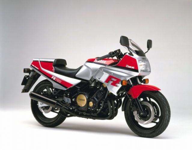 Yamaha FZ750 motorcycles 1985 wallpaper