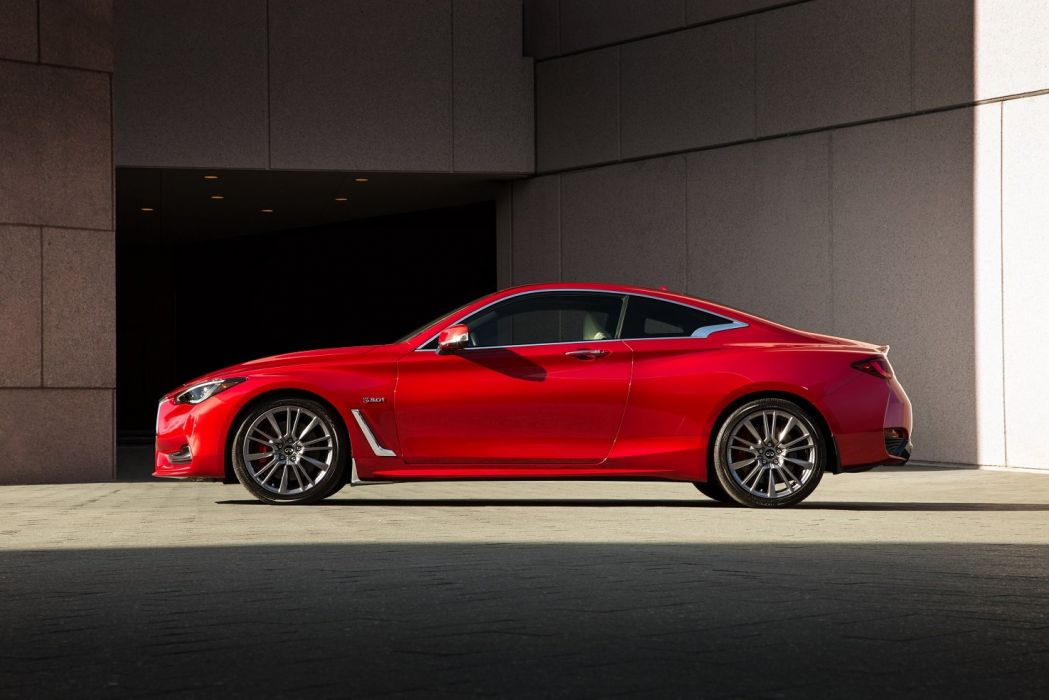 2016 Infiniti Q60 Red Sport 400 cars coupe red wallpaper