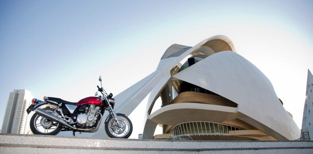 Honda CB-1100 motorcycles 2013 wallpaper