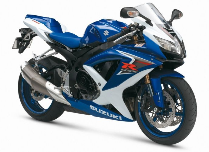 Suzuki GSXR 600 motorcycles 2008 wallpaper