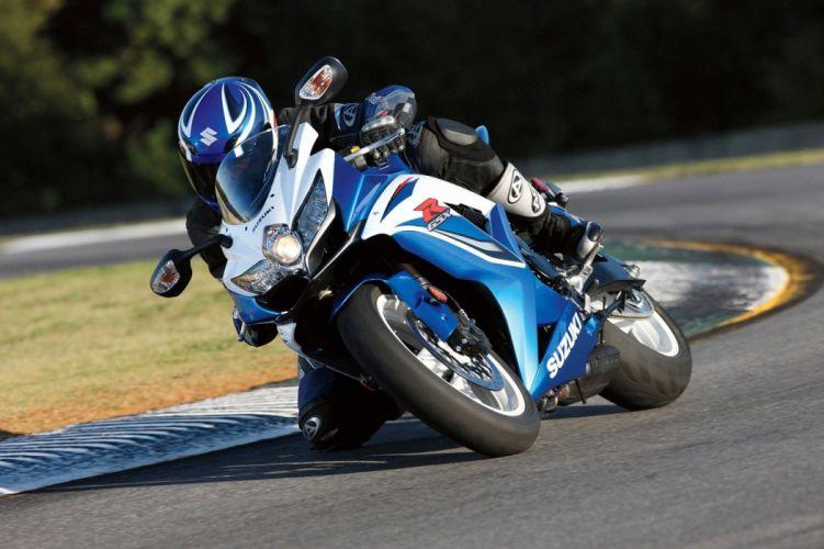 Suzuki GSXR 600 motorcycles 2008 wallpaper