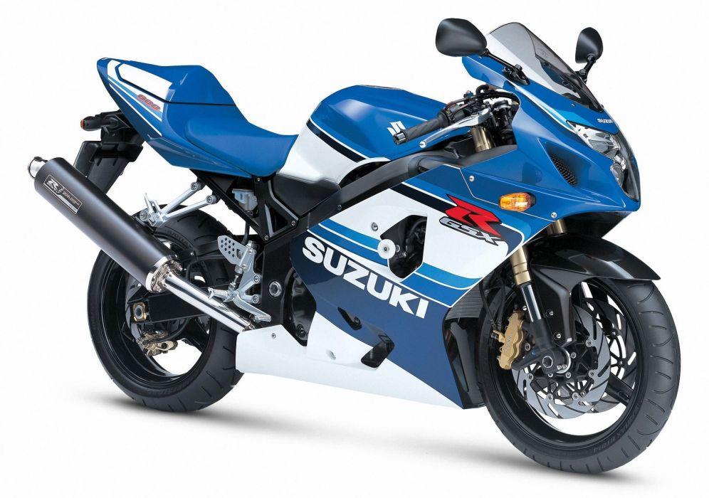 Suzuki GSXR 600 motorcycles 2005 20th anniversary wallpaper