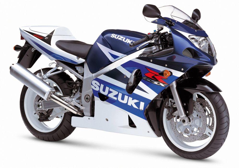 Suzuki GSXR 600 motorcycles 2001 wallpaper
