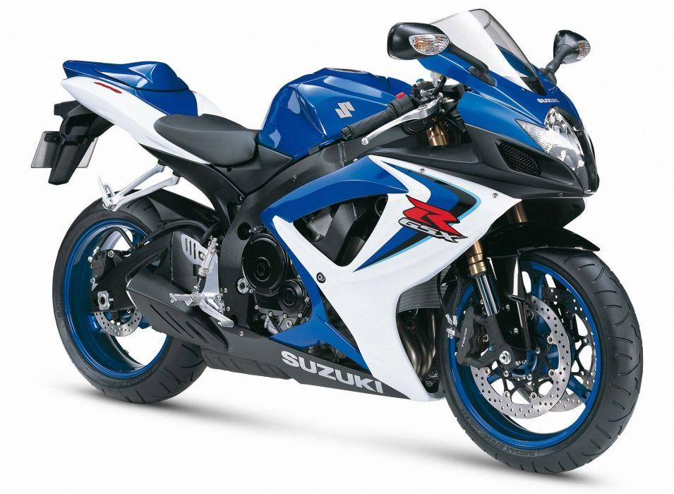 Suzuki GSXR 600 motorcycles 2006 wallpaper