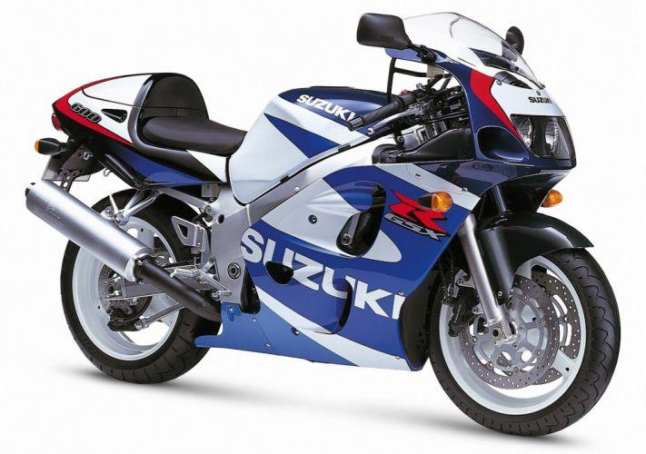 Suzuki GSXR 600 motorcycle SRAD 1997 wallpaper