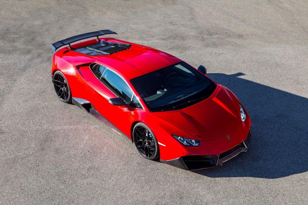 2016 NOVITEC TORADO Lamborghini Huracan cars supercars red modified wallpaper