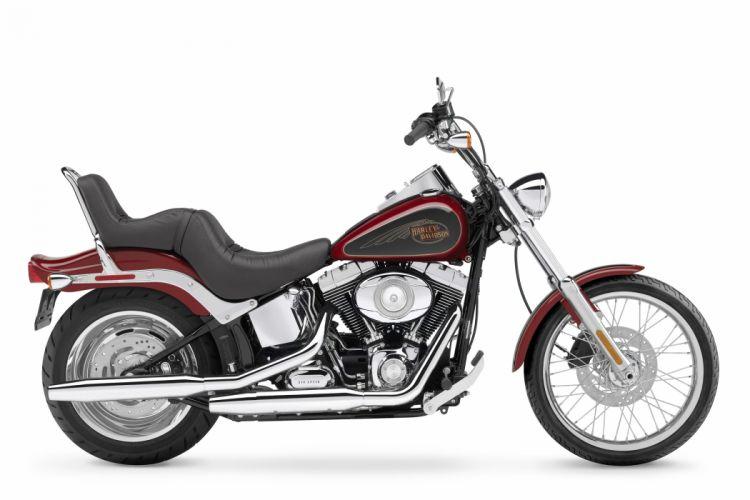 Harley Davidson FXSTC Softail Custom motorcycles 2007 wallpaper