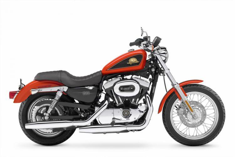 Harley Davidson XL50 Sportster 50th Anniversary motorcycles 2007 wallpaper