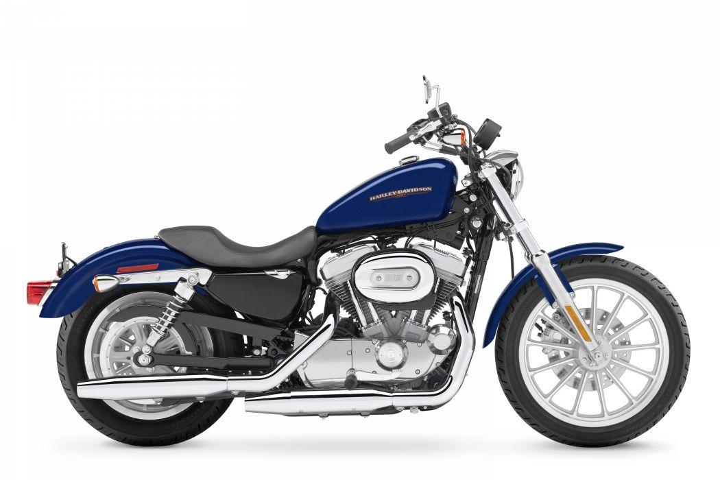 Harley Davidson XL883L Sportster Low motorcycle 2007 wallpaper
