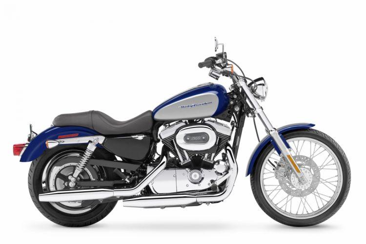 Harley Davidson XL1200C Sportster Custom motorcycles 2007 wallpaper