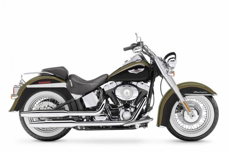 Harley Davidson FLSTN Softail Deluxe motorcycles 2007 wallpaper