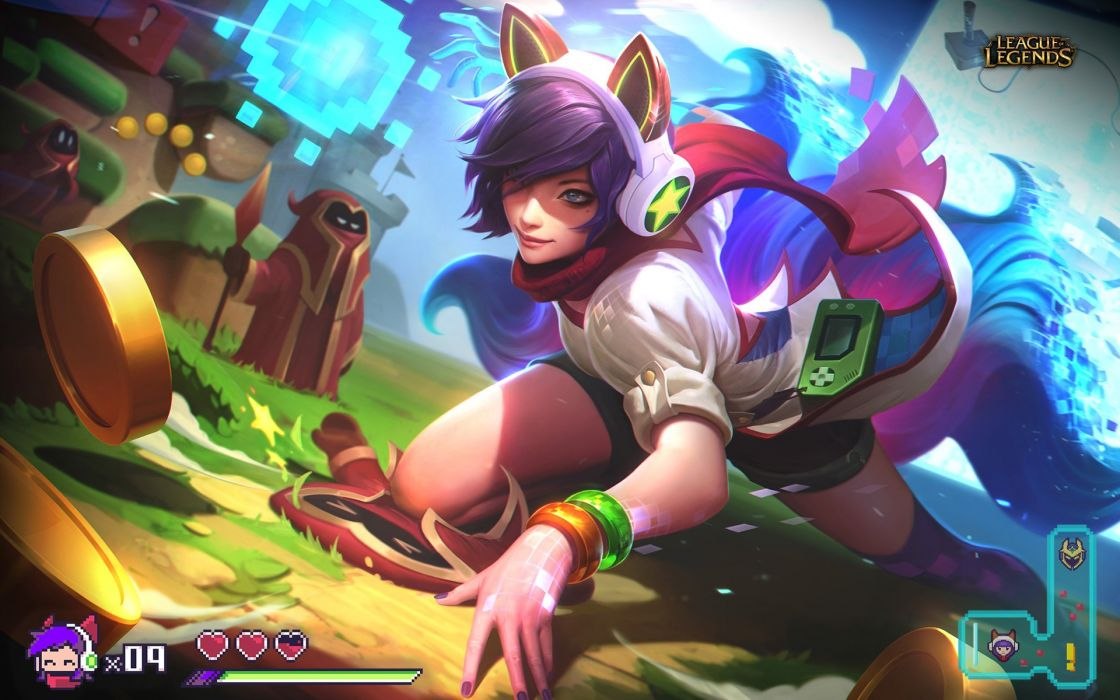 Arcade Ahri - League Of Legends wallpaper